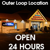 24hr Pet Emergency available at Outer Loop Location